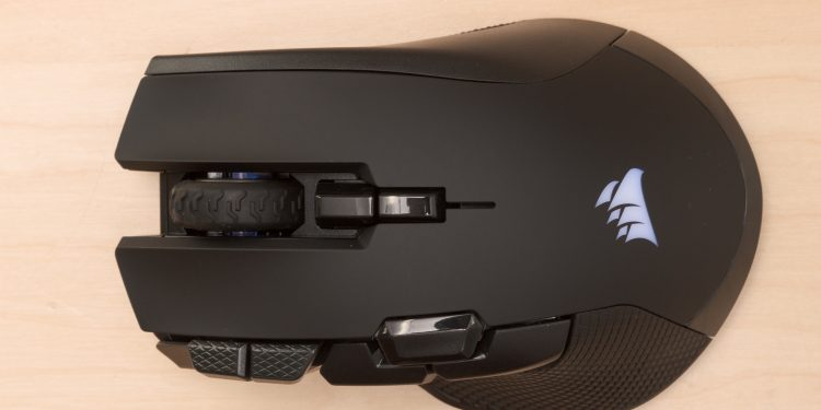CORSAIR IRON CLAW RGB FPS also as MOBA Gaming Mouse