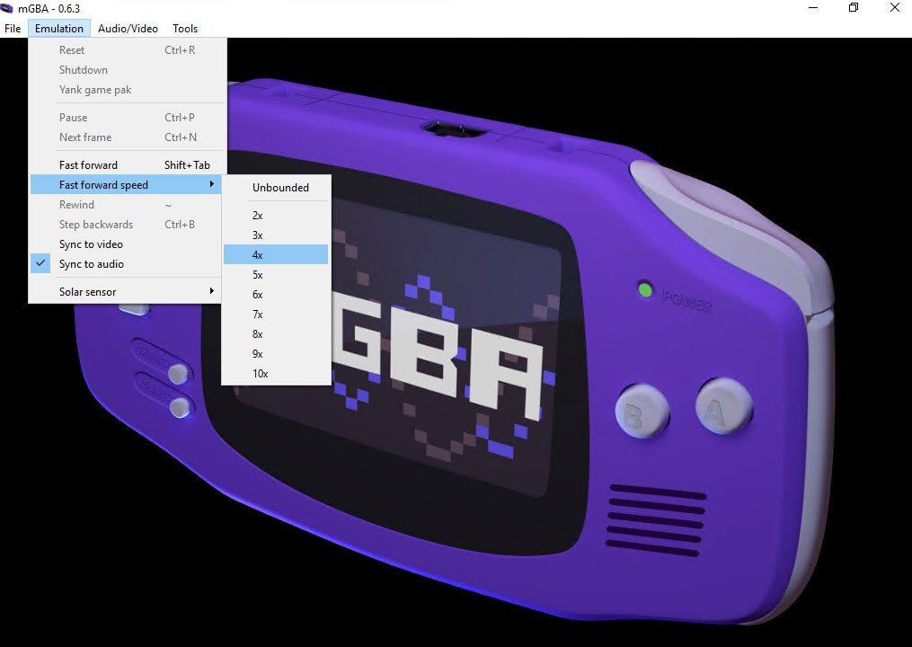 GBA Emulators for PC
