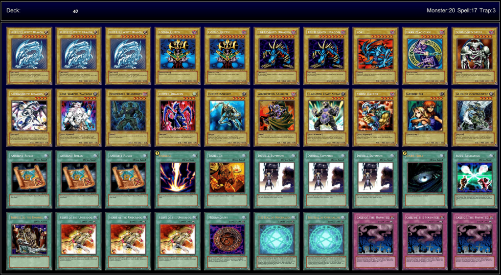 Yu-Gi-Oh Decks