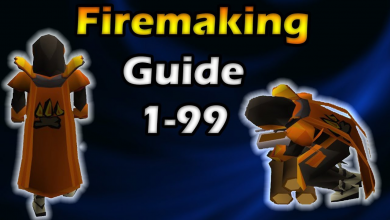 Photo of OSRS Firemaking Training Guide From Level 1 To 99