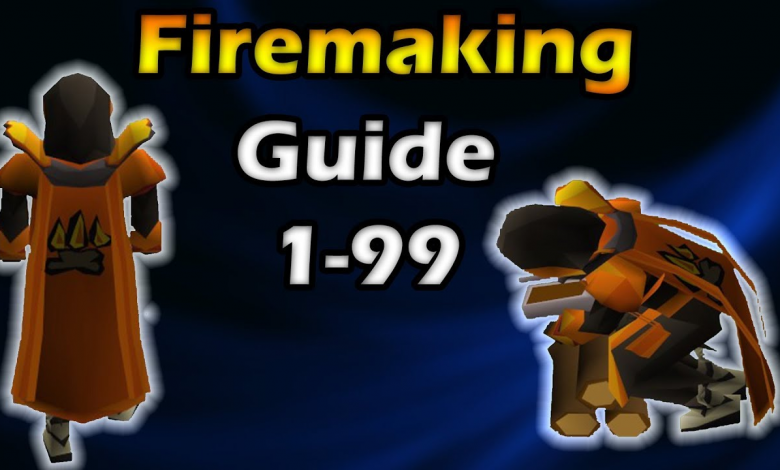 OSRS Firemaking Training Guide From Level 1 To 99