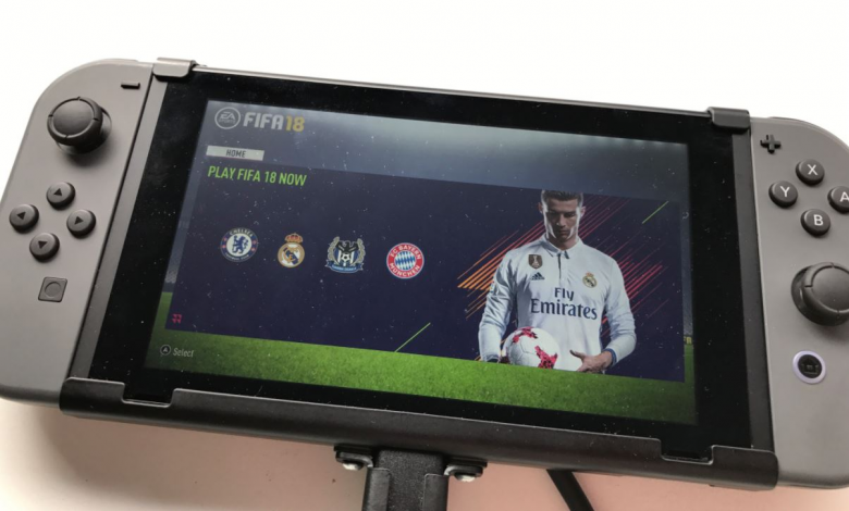 FIFA 18 on Switch sees like the best Mobile FIFA Game ever