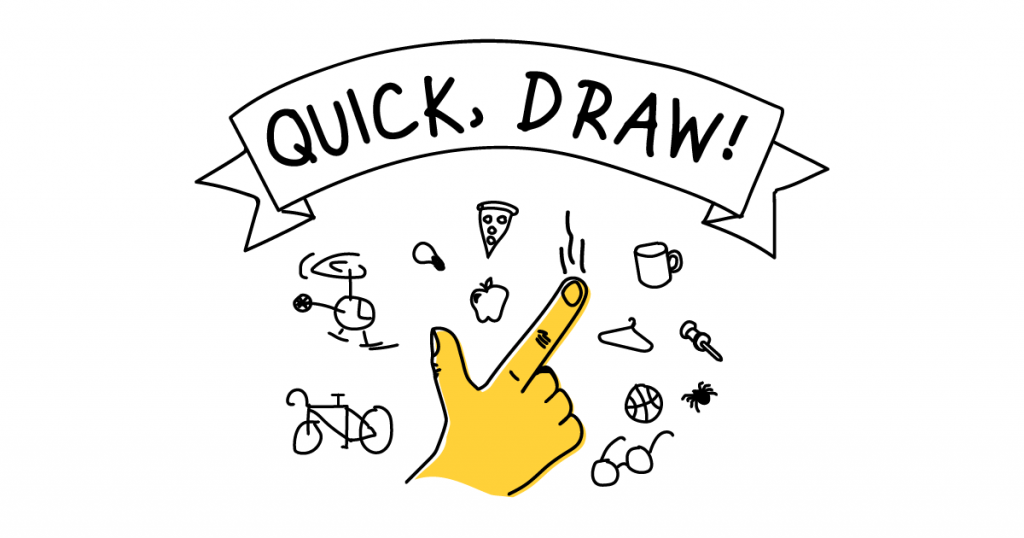Browser game with a quick draw